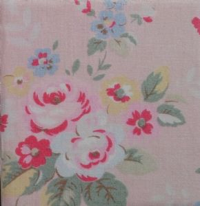 Ceramic Wall Tiles Made With Cath Kidston Trailing Floral in Pink